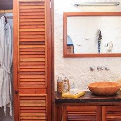 Отель Las Nubes de Holbox 3* Бунгало с различными типами кроватей фото 17