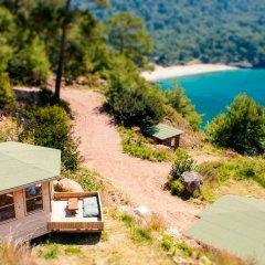Gemile Camping Бунгало Делюкс с различными типами кроватей фото 11