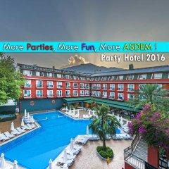 Hotel Asdem Park - All Inclusive парковка