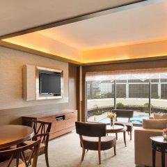 Отель Pan Pacific Singapore 5* Номер Делюкс с двуспальной кроватью фото 2