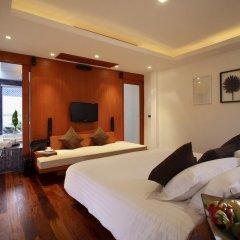 Отель La Flora Resort Patong 5* Номер Делюкс двуспальная кровать фото 4