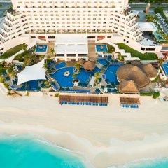 Отель Royal Solaris Cancun - Все включено Мексика, Канкун - 8 отзывов об отеле, цены и фото номеров - забронировать отель Royal Solaris Cancun - Все включено онлайн пляж фото 3