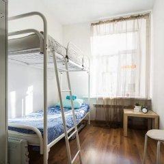 Хостел Online Кровать в общем номере с двухъярусной кроватью фото 9