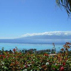 Отель Villa Blue Lagoon by Tahiti Homes Французская Полинезия, Папеэте - отзывы, цены и фото номеров - забронировать отель Villa Blue Lagoon by Tahiti Homes онлайн пляж фото 2