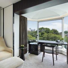 Shangri-La Hotel Singapore 5* Номер Делюкс с различными типами кроватей фото 5