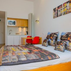 Апартаменты Charm Apartments Porto Студия разные типы кроватей фото 9