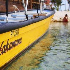 Отель Hakamanu Lodge Французская Полинезия, Тикехау - отзывы, цены и фото номеров - забронировать отель Hakamanu Lodge онлайн приотельная территория