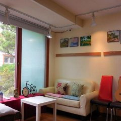 HaHa Guesthouse - Hostel Сеул комната для гостей фото 4