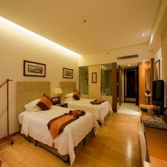 Отель Mingshen Golf & Bay Resort Sanya 4* Стандартный номер с различными типами кроватей фото 2