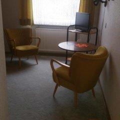 Hotel Zur Schanze 3* Стандартный номер с различными типами кроватей фото 8