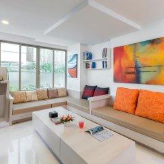 Апартаменты G1 Serviced Apartment Kamala Beach Стандартный номер с различными типами кроватей фото 15