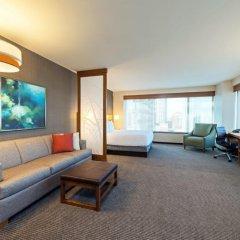 Отель Hyatt Place Nashville Downtown 3* Стандартный номер с различными типами кроватей фото 4