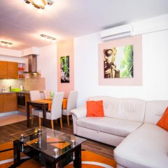 Апартаменты Corvin Apartment Budapest комната для гостей фото 9