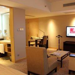 Отель Marco Polo Lingnan Tiandi Foshan Улучшенный номер с различными типами кроватей фото 3