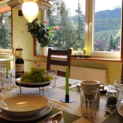 Апартаменты Guest House & Apartment Nabucco with Mountain View Закопане питание