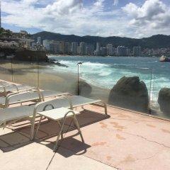Отель Apartamento Estrella Del Mar Acapulco пляж фото 2