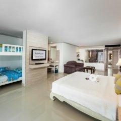 Отель Novotel Phuket Resort 4* Семейный номер Делюкс с двуспальной кроватью фото 2
