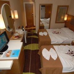 Oba Star Hotel & Spa - All Inclusive 3* Стандартный номер с двуспальной кроватью фото 3