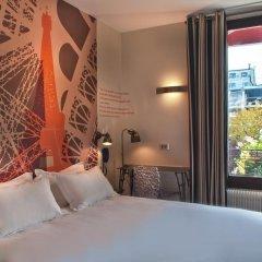Отель Hôtel Alpha Paris Tour Eiffel by Patrick Hayat 3* Стандартный номер с различными типами кроватей фото 9