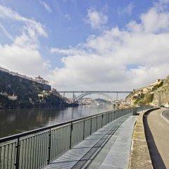 Отель Eurostars Porto Douro Порту приотельная территория