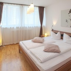 Отель Lodge-Leipzig 4* Апартаменты с различными типами кроватей фото 18