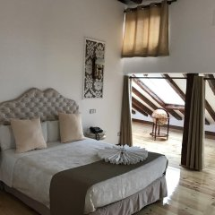 Отель Hostal Central Palace Madrid Номер Делюкс с различными типами кроватей фото 5