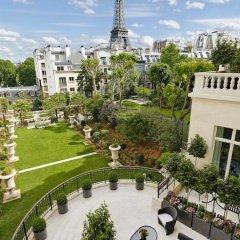 Shangri-La Hotel Paris 5* Улучшенный номер с различными типами кроватей фото 7