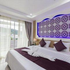 Отель Triple Three Patong 3* Улучшенный номер двуспальная кровать