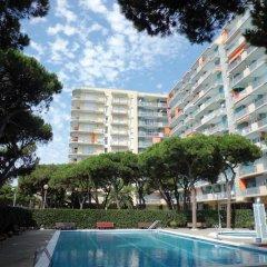 Отель Blanes Condal Испания, Бланес - отзывы, цены и фото номеров - забронировать отель Blanes Condal онлайн бассейн