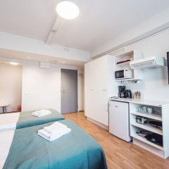 Отель Forenom Aparthotel Helsinki Herttoniemi Стандартный номер с различными типами кроватей фото 13