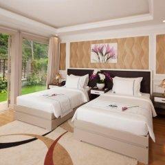 Отель MerPerle Hon Tam Resort 5* Номер Делюкс с различными типами кроватей фото 11