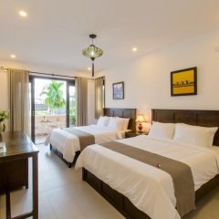 Отель OHANA Garden Boutique Villa 2* Стандартный семейный номер с двуспальной кроватью фото 10