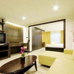 Отель Baywalk Residence Pattaya By Thaiwat 3* Номер Делюкс с разными типами кроватей фото 6