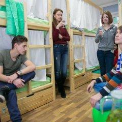 Hostel Ogurets Кровати в общем номере с двухъярусными кроватями фото 14