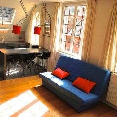 Отель Gaillon Бельгия, Брюссель - отзывы, цены и фото номеров - забронировать отель Gaillon онлайн комната для гостей фото 2