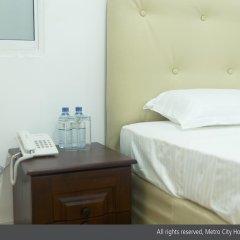 Metro City Hotel 3* Номер Делюкс с различными типами кроватей фото 8