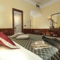 Отель Nord Nuova Roma 3* Улучшенный номер с различными типами кроватей фото 9