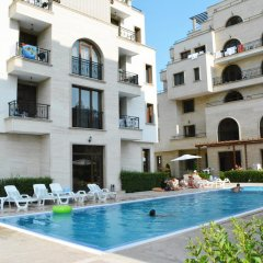 Отель ApartComplex Amara Sunny Beach Болгария, Солнечный берег - отзывы, цены и фото номеров - забронировать отель ApartComplex Amara Sunny Beach онлайн бассейн фото 2