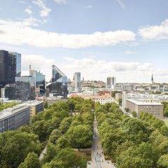 Отель Hilton Tallinn Park 4* Представительский номер с разными типами кроватей фото 11