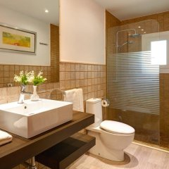 Отель Cas Menescal Испания, Коста-де-лос-Пинос - отзывы, цены и фото номеров - забронировать отель Cas Menescal онлайн ванная фото 2