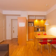 Отель Hellsten Helsinki Parliament 3* Улучшенная студия с разными типами кроватей фото 5
