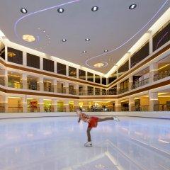 Отель Hyatt Regency Galleria Residence Дубай фитнесс-зал фото 2