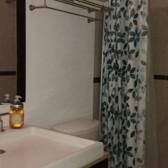 Отель Habitación en Penthouse Colonia del Valle Мексика, Мехико - отзывы, цены и фото номеров - забронировать отель Habitación en Penthouse Colonia del Valle онлайн ванная
