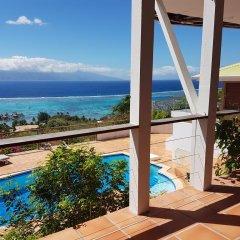 Отель Villa Blue Lagoon by Tahiti Homes Французская Полинезия, Папеэте - отзывы, цены и фото номеров - забронировать отель Villa Blue Lagoon by Tahiti Homes онлайн бассейн