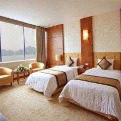 Muong Thanh Grand Ha Long Hotel 4* Номер Делюкс с 2 отдельными кроватями фото 13