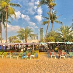 Отель Centric Sea Pattaya by Skyren пляж фото 2