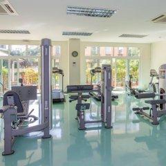 Апартаменты Emerald Palace - Serviced Apartment Паттайя фитнесс-зал фото 3