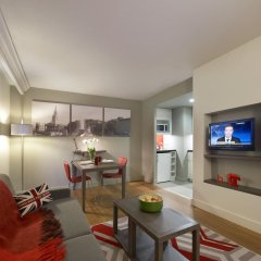 Отель Citadines Trafalgar Square London 3* Апартаменты с различными типами кроватей фото 2