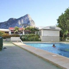 Отель Apartamentos Esmeralda Unitursa бассейн фото 2