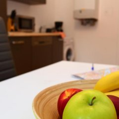 Апартаменты Checkvienna – Apartment Reumannplatz Вена комната для гостей фото 4
